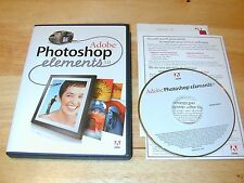 Adobe Photoshop Elements 3.0 PC CD-ROM 2004 Full Retail Version for Windows XP