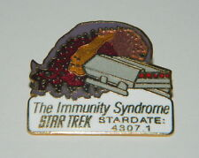 Classic Star Trek TV Series 47th Aired Episode The Immunity Syndrome Logo Pin