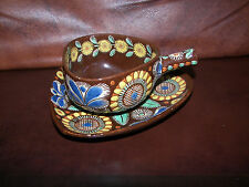 Thoune ( Thun ) Hand Decorated Swiss Pottery Decorative Cup & Saucer