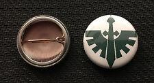 """Warhammer 40k Dark Angels - Space Marines - 1"""" pin button - Buy 2 Get 1 Free"""