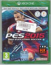XBOX ONE - PES 2015 - Pro Evolution Soccer - PAL - ITA - NUOVO