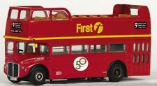 33105 EXCLUSIVE FIRST EDITIONS OPEN TOP ROUTEMASTER BUS EFE 1:76 DIECAST ROUTE 9