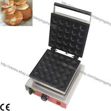Commercial Nonstick Electric Dutch Poffertjes Mini Pancake Machine Maker Baker
