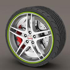 Green Rimblades Alloy Wheel Edge Ring Rim Protectors Tyres Tire Guard Rubber