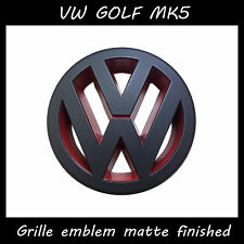 Car accessory Volkswagen VW GOLF5 MK5 GTI Badge LOGO Matte Golf grille emblem