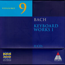 BACH 2000 VOL. 9: KEYBOARD WORKS I Cembalowerke. 11 CDs, gut