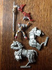 Warhammer. Undead. Classic Blood Dragon Vampire Mounted. Metal Oop.