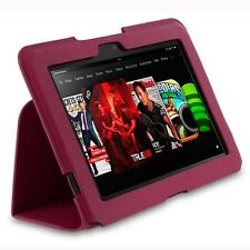 "rooCASE for Amazon Kindle Fire HD 8.9"" - Ultra-Slim Vegan Leather Folio Case"