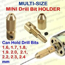 Micro PCB Drill Bit Holder Multi Size 1.6 to 2.4 mm Mini Chuck Motor Clamp 2.3mm