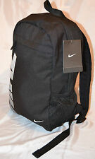 NIKE Boys/Girls Unisex Backpack Rucksack School Bag Travel 19 Litere Adult Black