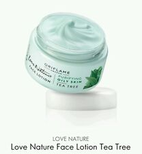 Love Nature Face Lotion Cream Tea Tree, 50ml New