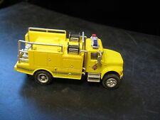 HO Scale Plastic Yellow International Rescue EMT Truck