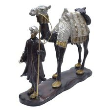 Brass Merchant Of  Arabia Statue Camel Middle Eastern Style Camel Ornament New
