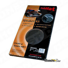 HUSHMAT 10110 ULTRA BLACK FOIL SOUND DEADENING/DAMPENING/INSULATING SPEAKER KIT