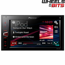 "Pioneer mvh-av280bt Doble Din mechless receptor Ipod Bluetooth Usb 6.2 ""Pantalla"