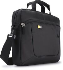 "Case Logic 14.1"" Laptop / iPad Slim Case Black Carry Bag AUA314 NEW Macbook"