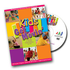 Kids Get Movin' (DVD) NEW, – Aerobic Hip Hop & Yoga Fitness for Kids ages 7-12