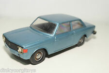 STAHLBERG FINLAND PLASTIC VOLVO 142 SALOON METALLIC BLUE EXCELLENT CONDITION