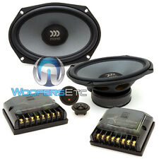 "MOREL TEMPO ULTRA 692 6""X9"" 140W RMS COMPONENT NEODYMIUM TWEETERS SPEAKERS NEW"