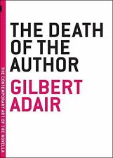The Death of the Author (The Contemporary Art of the Novella), Adair, Gilbert, N