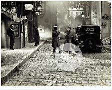 MAX OPHULS Edwige FEUILLERE Affiche Enseigne Pub Voiture Montmartre Photo 1939