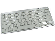 Clavier Bluetooth Slimline portable Windows Android iOS iPhone iPad PC ARGENT