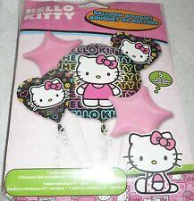 Anagram Foil Balloon Bouquet HELLO KITTY - 5 Balloons