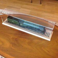 O Gauge Locomotive Acrylic Display Case Pinewood Base