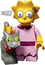 LEGO MINIFIGURE THE SIMPSONS  SERIE 2  `` LISA & PALLA DI NEVE ´´  RIF 71009