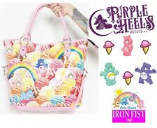 Iron Fist Care Bears Scoops A Lot Pink Ice Cream Tote Bag New Season