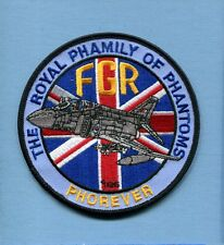 RAF ROYAL AIR FORCE McDONNELL DOUGLAS F-4 PHANTOM FAMILY Non USAF Squadron Patch