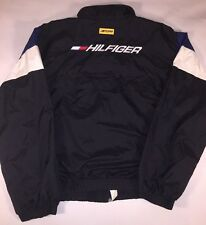 Vintage Tommy Hilfiger Athletics Windbreaker Spellout Embroidered Sz XL 90's