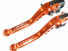 KTM 690 DUKE /R 2012 2013 BRAKE CLUTCH ORANGE SHORT LEVERS RACE TRACK ROAD R15A4