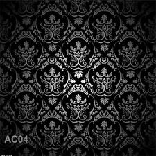 8X8FT Vinyl Damask Photography Backdrop Custom Studio Prop Background AC04