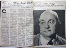 BERNARD BLIER =  Coupure de presse 2  pages 1977