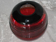 Unique Decorative Hand Blown Glass Vase Flowers Table Counter Round NEW!