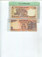 WORLD BANK NOTE - 2006 INDIA M. GANDHI 10 RUPEES UNC  # B096