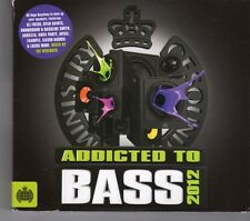 (GJ63) Ministry Of Sound, Addicted To Bass - 2012 CD