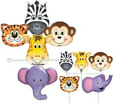 ZOO CIRCUS ANIMALS BALLOONS BIRTHDAY PARTY BABY SHOWER DECORATIONS CENTERPIECES