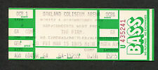 The Firm 1985 Unused Full Concert Ticket Oakland Radioactive Jimmy Page Zeppelin