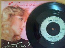 Renee & Renato - Just One Day - Vinyl Single - Rare(Ex)