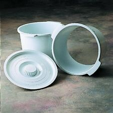 Invacare Commode Toilet  Bath Pail Bucket with Lid
