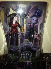 EXCLUSIVE MATTEL MONSTER HIGH VILLAIN 2-PACK VALENTINE & WHISP SDCC 2015 DOLLS