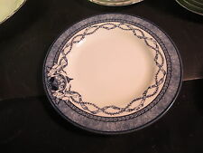 "Queen's China Historic Royal Palaces 8-1/2"" Salad Plate Blue & White"