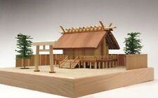 Woody JOE Wooden Building Model Kit 1/150 Jinmei Building Shrine Laser Cut