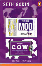 The Big Moo / Purple Cow by Seth Godin (Paperback) Marketing Innovation