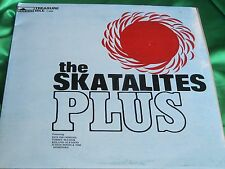 JA Press SKA Reggae LP : The Skatalites Plus ~ Treasure Isle 0005