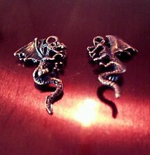 Dragon Charms Pendants Antiqued Copper Fairytale Charms Fairy Tale 10 pieces