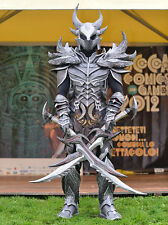 Skyrim Daedric Armor cosplay costume DIY 3D paper model kit