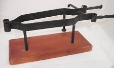 Porta prosciutto Ferma prosciutto in ferro battuto e b OMA19